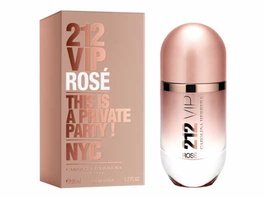 Zoom στο CAROLINA HERRERA 212 VIP ROSE EDP 50 ml SPR