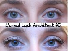 Zoom στο LOREAL FALSE LASH ARCHITECT 4D EFFECT FIBERS MASCARA BLACK