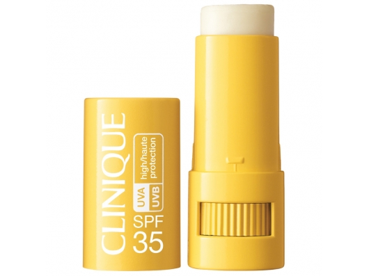 Zoom στο CLINIQUE targeted protection stick UVA UVB SPF 35 6gr