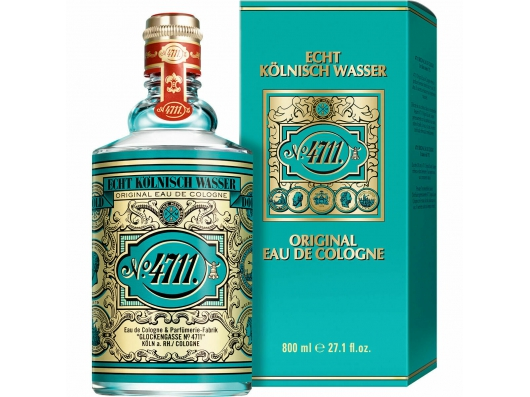 Zoom στο 4711 ORIGINAL EAU DE COLOGNE & PARFUMERIE 800ml (KING SIZE)