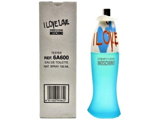 Zoom στο MOSCHINO I LOVE LOVE EDT 100ml SPR (tester)