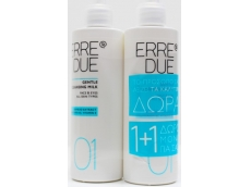 Zoom στο ERRE DUE GENTLE CLEANSING MILK for FACE & EYES 200 X 200 = 400ml (1+1 ΔΩΡΟ)