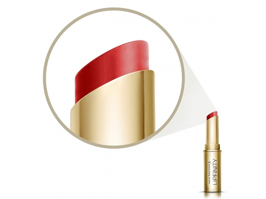 Zoom στο Max Factor Lipfinity lipstick