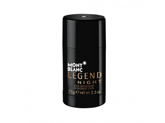 Zoom στο MONT BLANC LEGEND NIGHT DEODORANT STICK 75gr