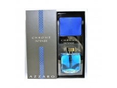 Zoom στο AZZARO CHROME INTENSE EDT 100ml SPR (gift set)