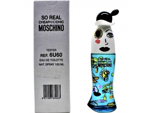 Zoom στο MOSCHINO CHEAP AND CHIC SO REAL 100ml SPR (tester)