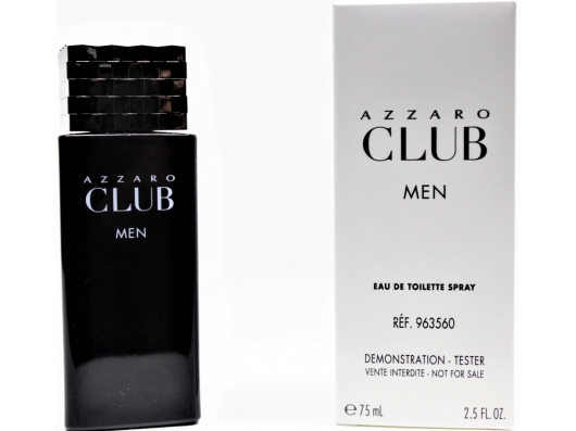 Zoom στο AZZARO CLUB MEN EDT 75ml SPR (tester)