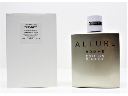 Zoom στο CHANEL ALLURE HOMME EDITION BLANCHE EDT 100ml SPR (tester)