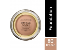 Zoom στο MAX FACTOR MIRACLE TOUCH MAKE UP BRONZE No 080 11.5gr