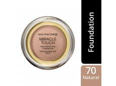 Zoom στο MAX FACTOR MIRACLE TOUCH SKIN PERFECTING FOUNDATION 070 NATURAL 11.5gr