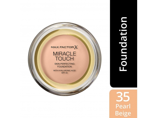 Zoom στο MAX FACTOR MIRACLE TOUCH MAKE UP PEARL BEIGH No 035 11.5gr