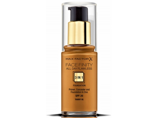 Zoom στο MAX FACTOR FACEFINITY ALL DAY FLAWLESS 3 IN 1 FOUNDATION SPF 20 TAWNY No 95 30ml