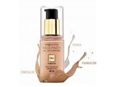 Zoom στο MAX FACTOR FACEFINITY ALL DAY FLAWLESS 3 IN 1 FOUNDATION SPF 20 SUN TAN No 100 30ml