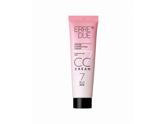 Zoom στο ERRE DUE COLOR CORRECTING CC CREAM 7IN1 SPF20 No 03-BRONZE 30ml
