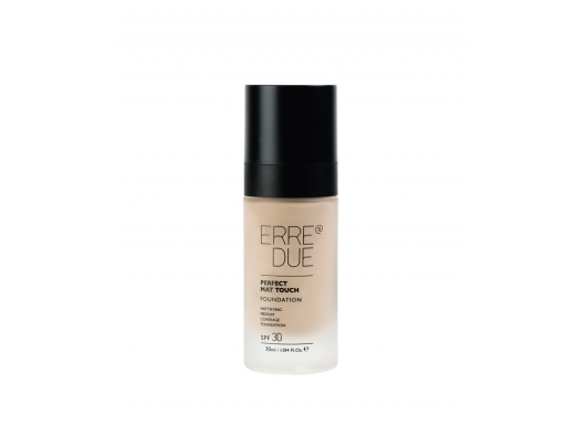 Zoom στο ERRE DUE PERFECT MAT TOUCH FOUNDATION SPF30 No. 301- Pale Ivory 30ml