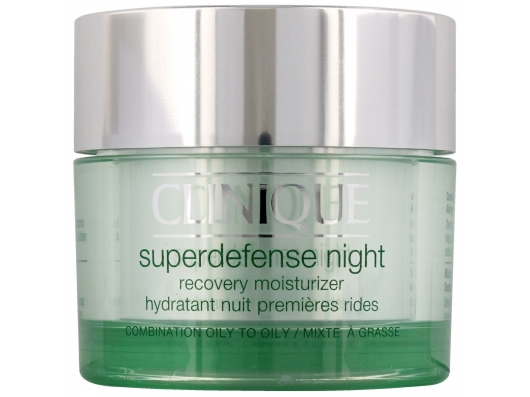 Zoom στο CLINIQUE SUPERDEFENSE NIGHT RECOVERY MOISTURIZER 50 ML ( COMBINATION-OILY TO OILY )