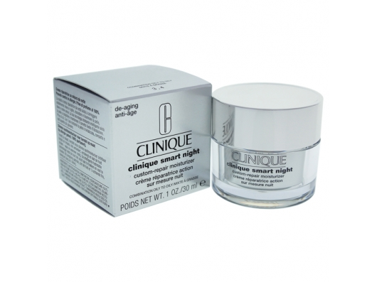 Zoom στο CLINIQUE SMART NIGHT CUSTOM-REPAIR MOISTURIZER (COMBINATION-OILY TO OILY) 30 ML