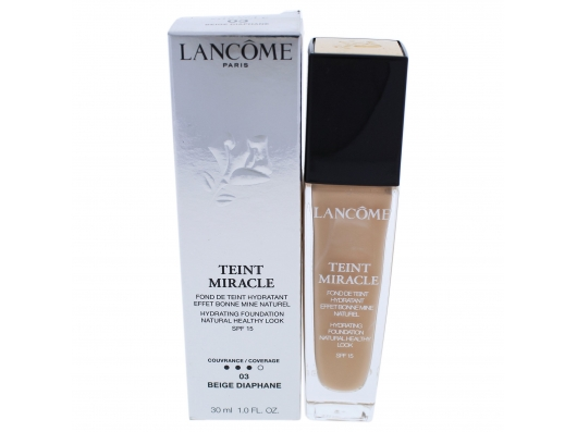 Zoom στο LANCOME TEINT MIRACLE FOUNDATION Natural Light Creator Bare Skin Perfection SPF15 30ml