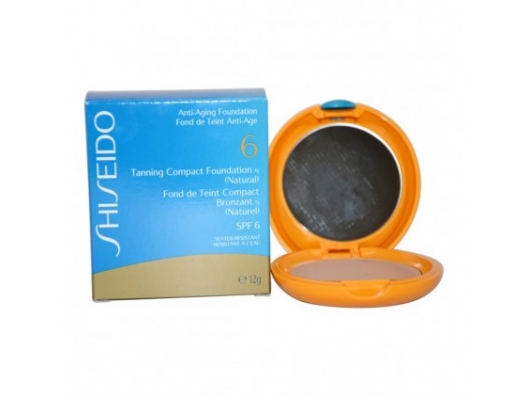 Zoom στο SHIDEIDO TANNING COMPACT FOUNDATION (NATURAL) WATER-RESISTANT SPF 6