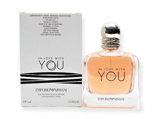 Zoom στο ARMANI IN LOVE WITH YOU EDP 100ml SPR (tester)