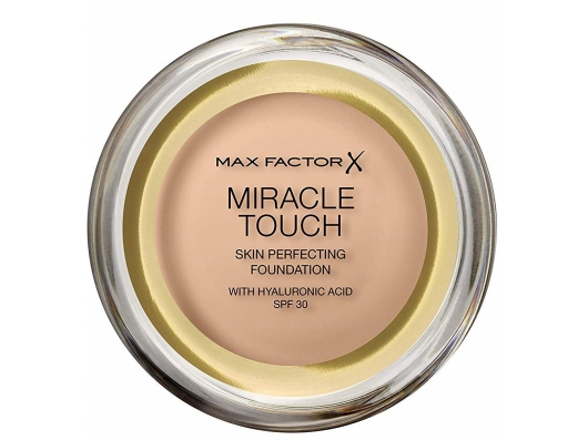 Zoom στο MAX FACTOR MIRACLE TOUCH SKIN PERFECTING FOUNDATION 045 WARM ALMOND 11.5gr