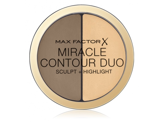 Zoom στο MAX FACTOR MIRACLE CONTOUR DUO SCULPT + HIGHLIGHT LIGHT/MEDIUM 11gr