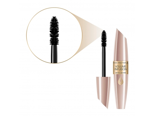Zoom στο MAX FACTOR VOLUME INFUSION MASCARA BLACK BROWN 13.1ml