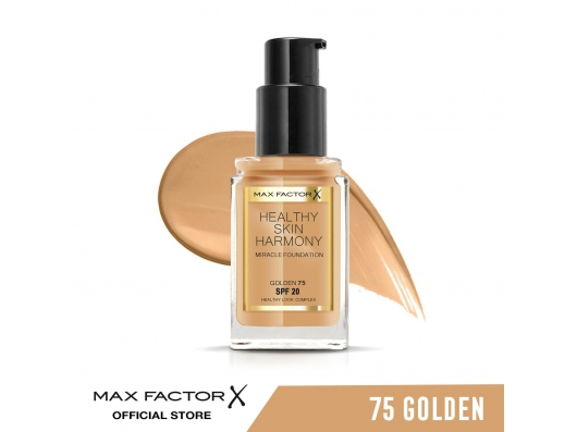 Zoom στο MAX FACTOR HEALTHY SKIN HARMONY MIRACLE FOUNDATION SPF20 75 GOLDEN