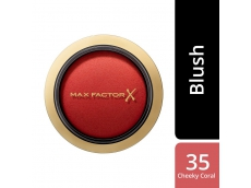 Zoom στο MAX FACTOR CREME PUFF BLUSH MATTE 35 CHEEKY CORAL