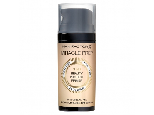 Zoom στο MAX FACTOR MIRACLE PREP 3In1 Beauty Protect Primer Spr30 Pa+++ 30ml