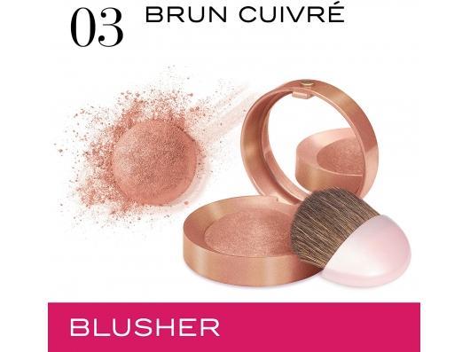 Zoom στο BOURJOIS Little Round Pot Blusher 03 Brum Cuivre 2.5g