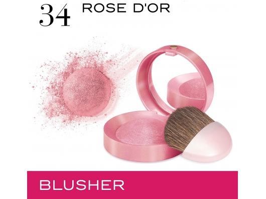 Zoom στο BOURJOIS Little Round Pot Blusher 34 Rose d Or 2.5g
