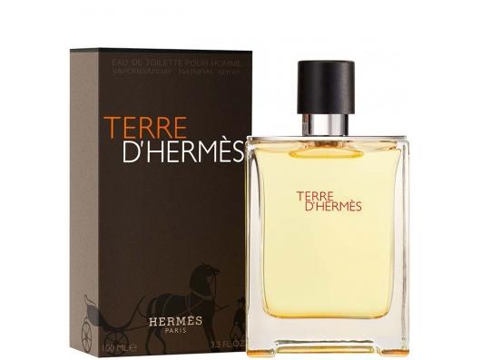 Zoom στο HERMES TERRE D HERMES POUR HOMME EDT 100ml SPR