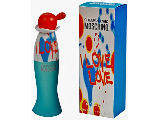 Zoom στο MOSCHINO I LOVE LOVE EDT 50ml SPR