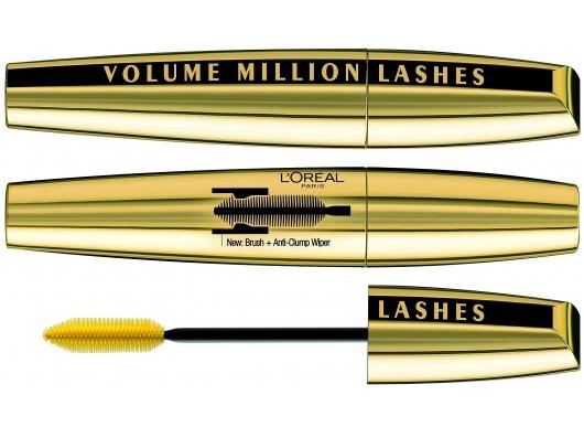 Zoom στο LOREAL MASCARA VOLUME MILLION LASHES 01-BLACK 10,7ml