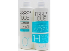 Zoom στο ERRE DUE PURIFYING CLEANSING GEL for FACE 200 X 200 = 400ml (1+1 ΔΩΡΟ)