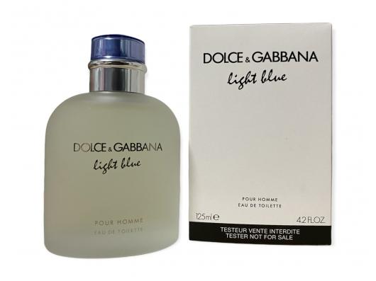 Zoom στο DOLCE & GABBANA LIGHT BLUE POUR HOMME EDT 125ml SPR (tester)