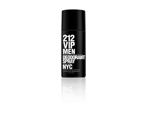 Zoom στο CAROLINA HERRERA 212 VIP MEN DEO SPRAY 150 ML