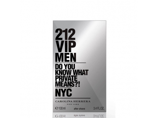 Zoom στο CAROLINA HERRERA 212 VIP MEN AFTER SHAVE LOTION EDT 100 ML