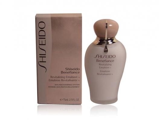 Zoom στο Shiseido Benefiance Revitalizing Emulsion 75 ml