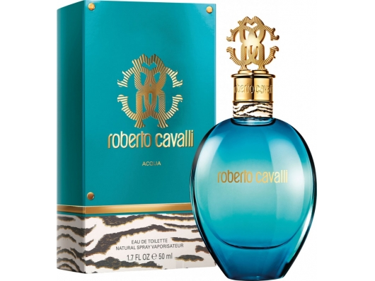 Zoom στο ROBERTO CAVALLI ACQUA EDT 50ml SPR